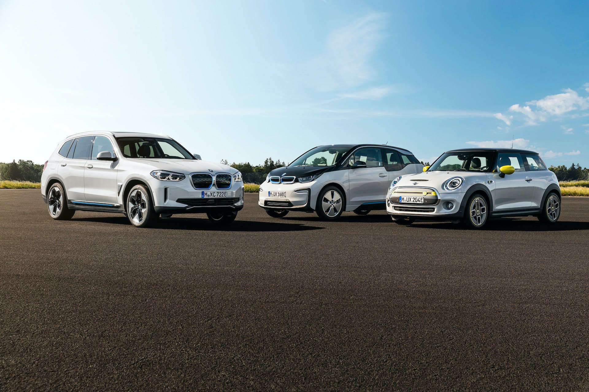 BMW #ElectrifYou BMW iX3 i3 MINI Cooper SE