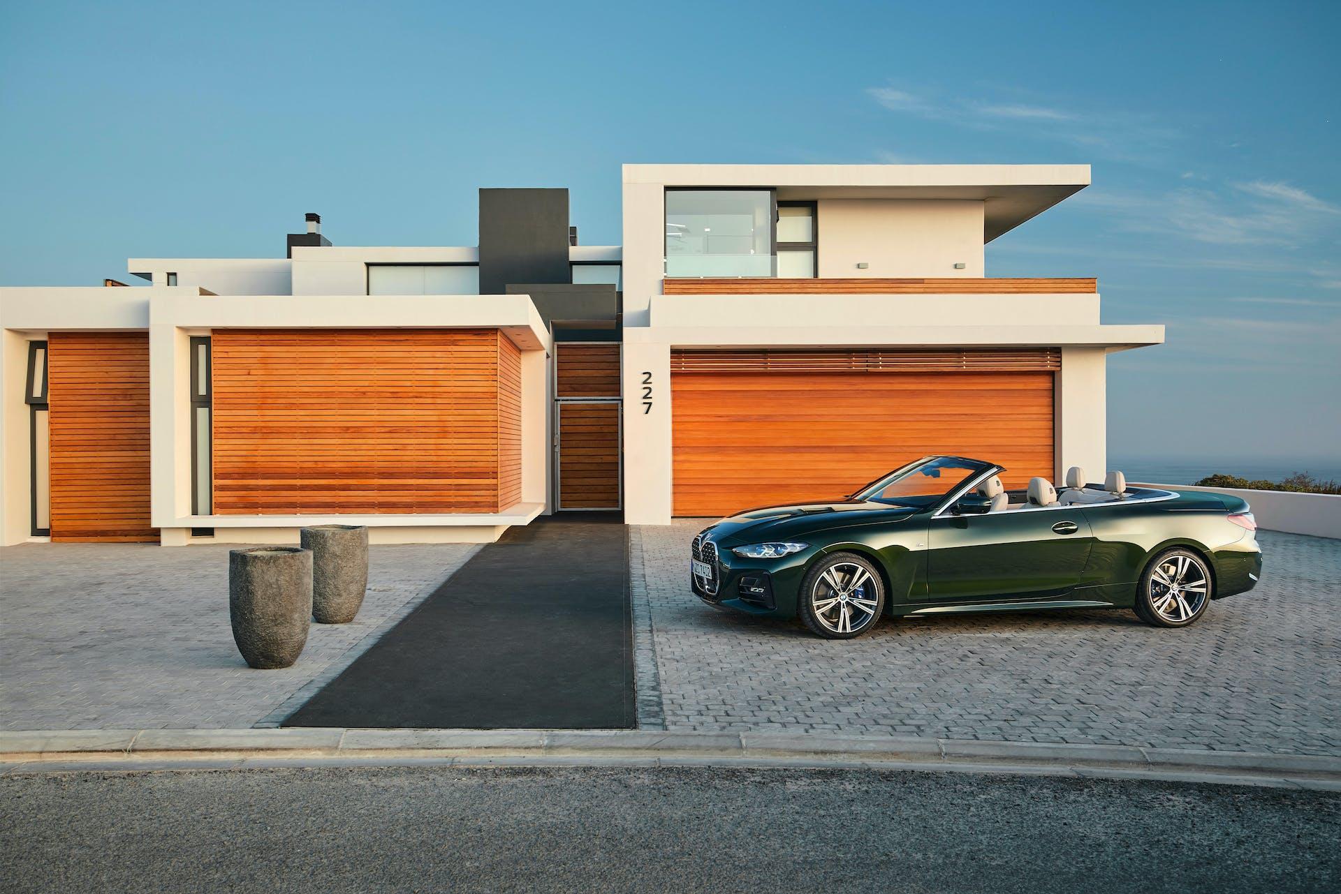 BMW Serie 4 Cabrio statica laterale