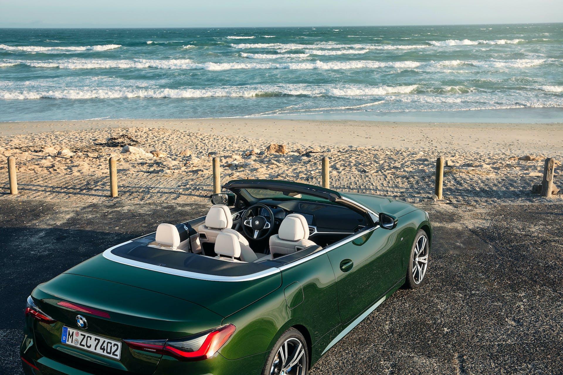 BMW Serie 4 Cabrio abitacolo