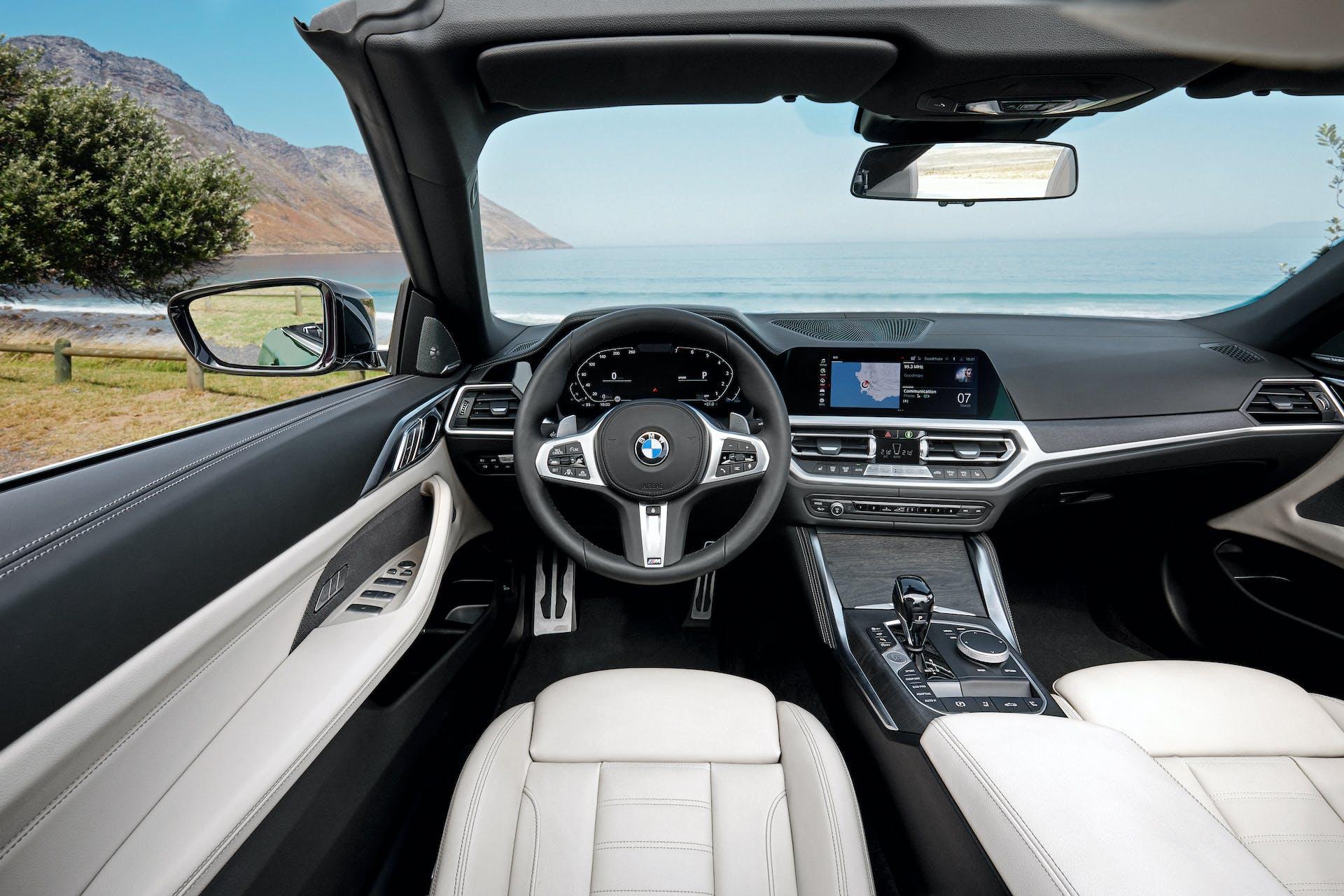 BMW Serie 4 Cabrio plancia