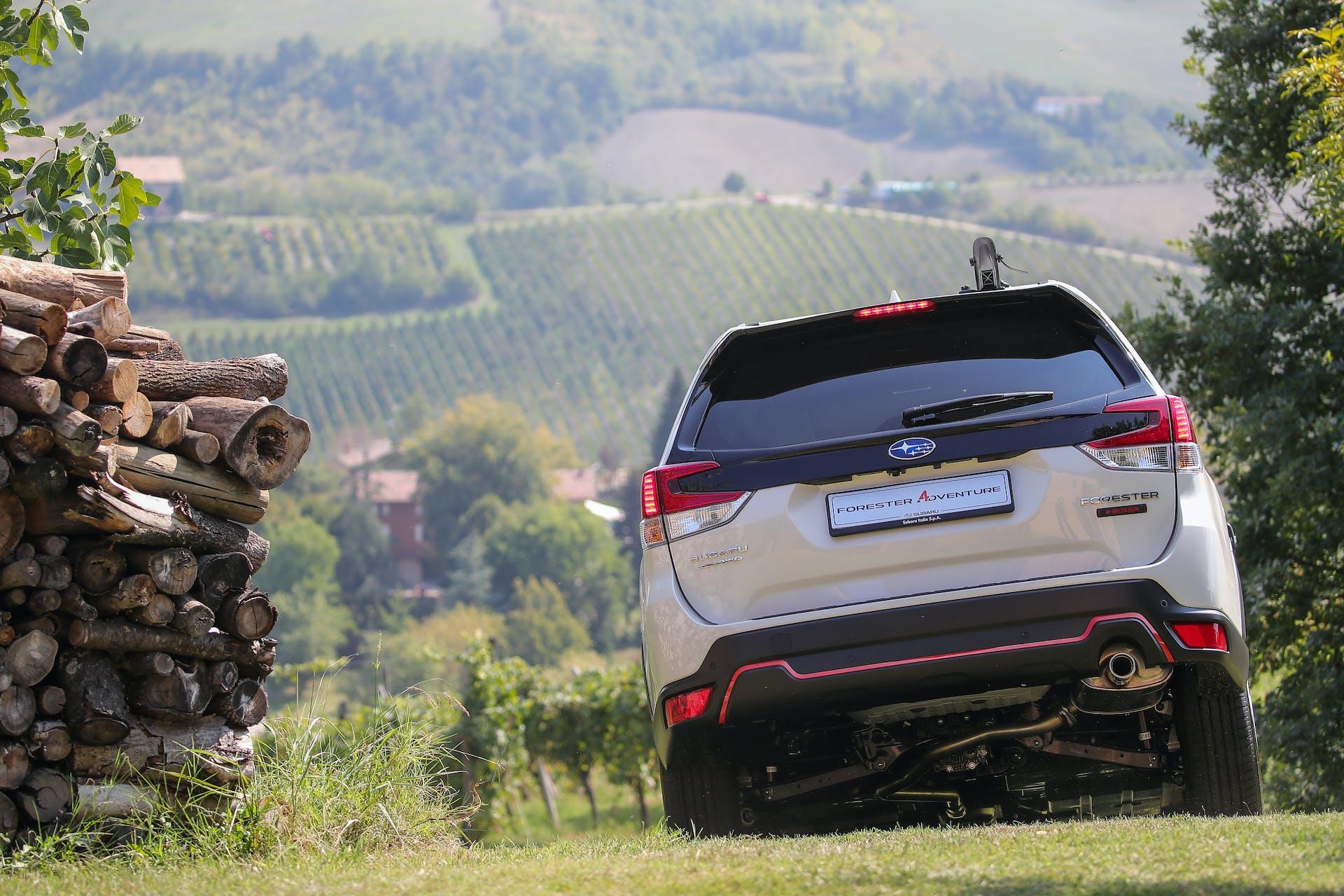 Subaru Forester 4Dventure posteriore
