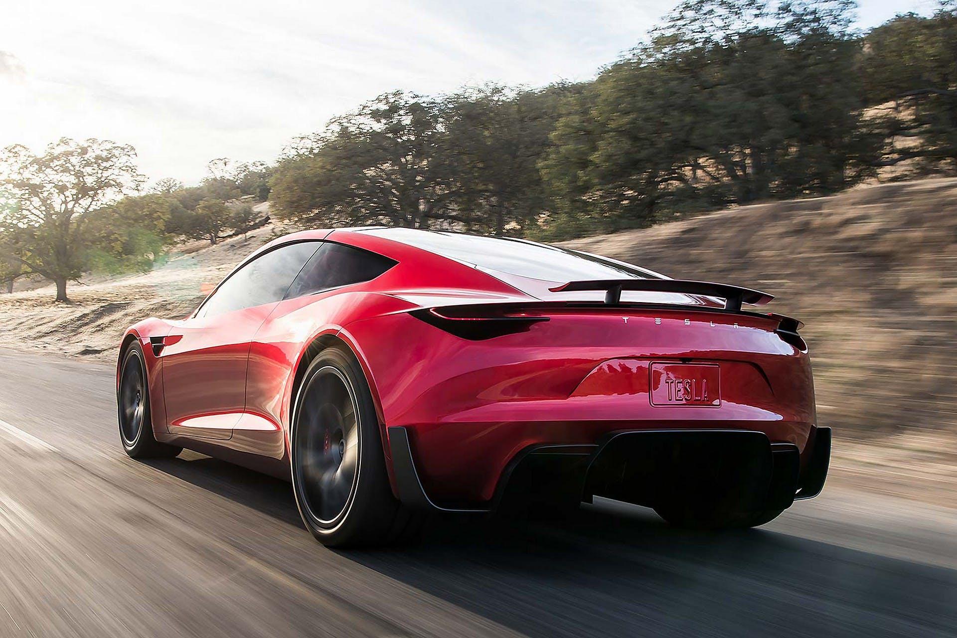 Tesla Roadster MY20 dinamica
