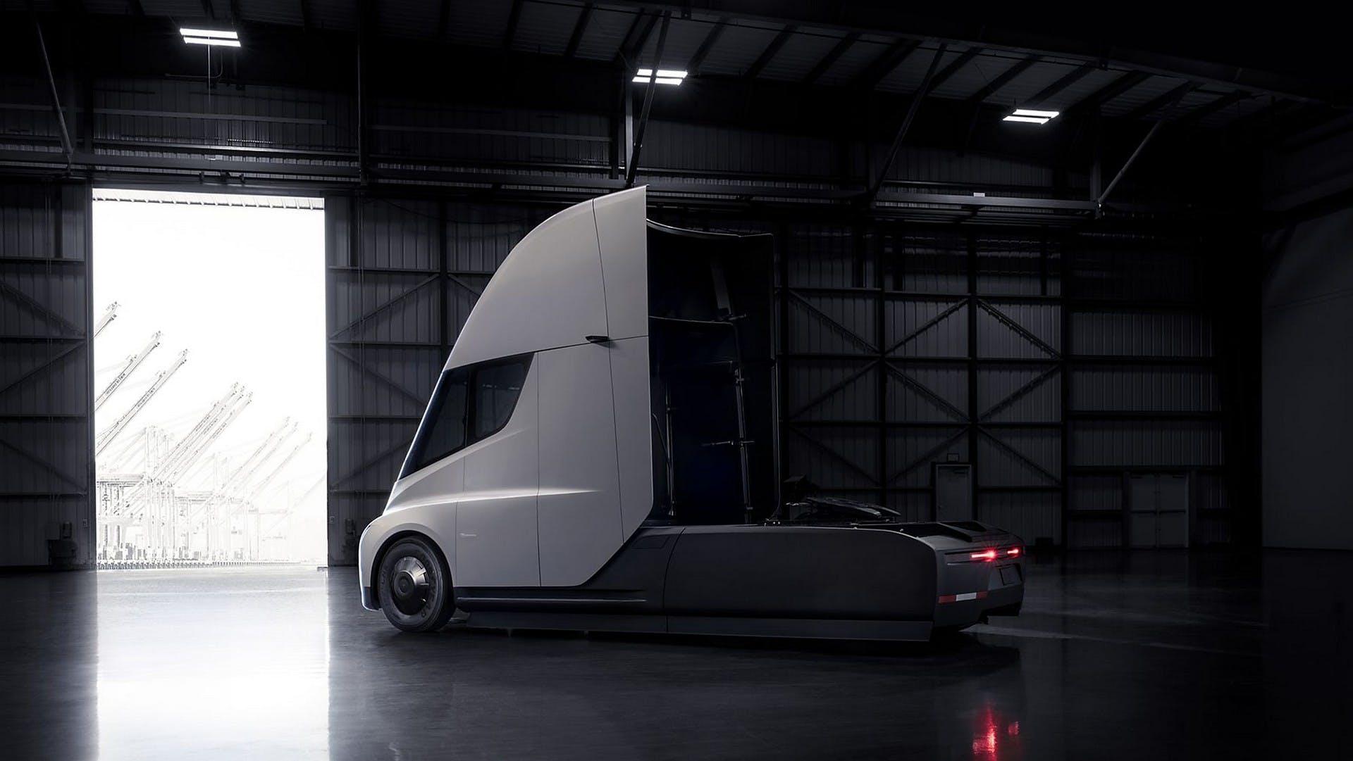 Tesla Semi Truck statica