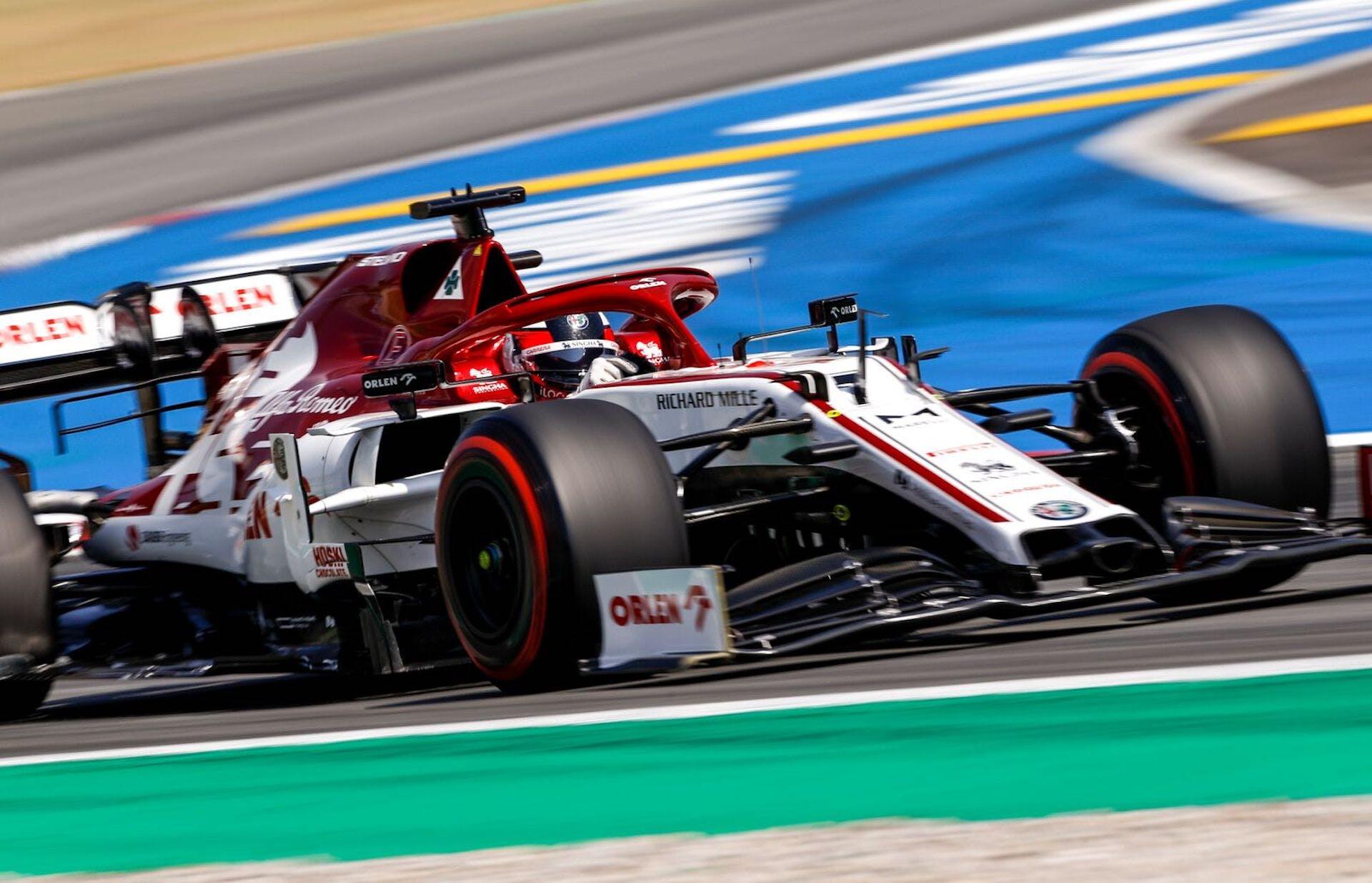 Kimi Raikkonen GP Spagna 2020
