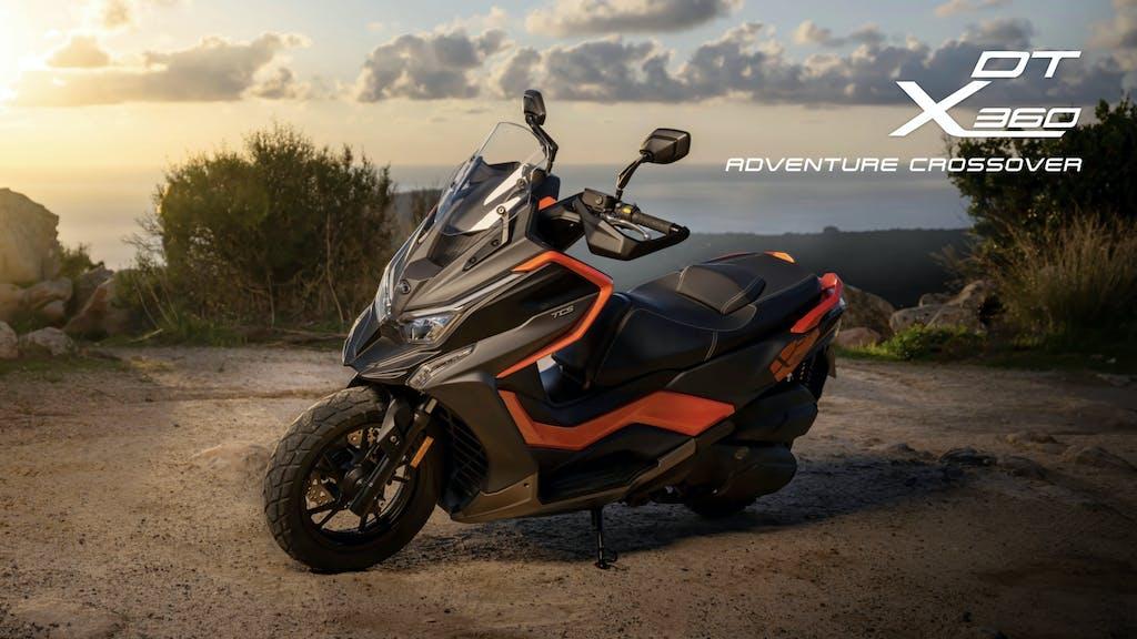 Kymco DT X360 – lo scooter per qualsiasi destinazione