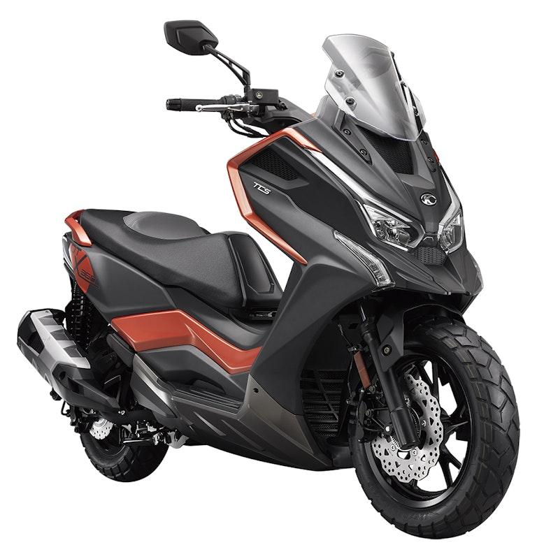 Kymco DT X360 2021: el nuevo scooter off-road A2 taiwanés
