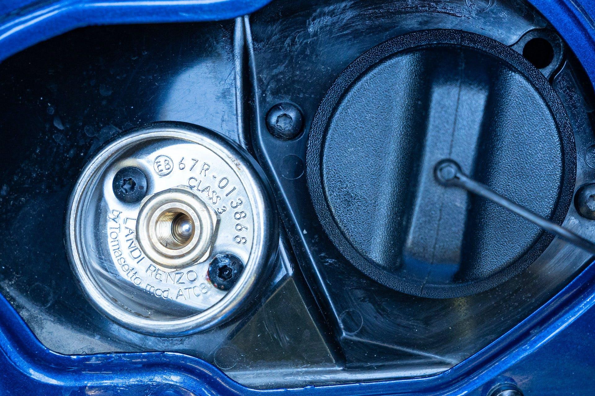 Dacia Duster tappo GPL