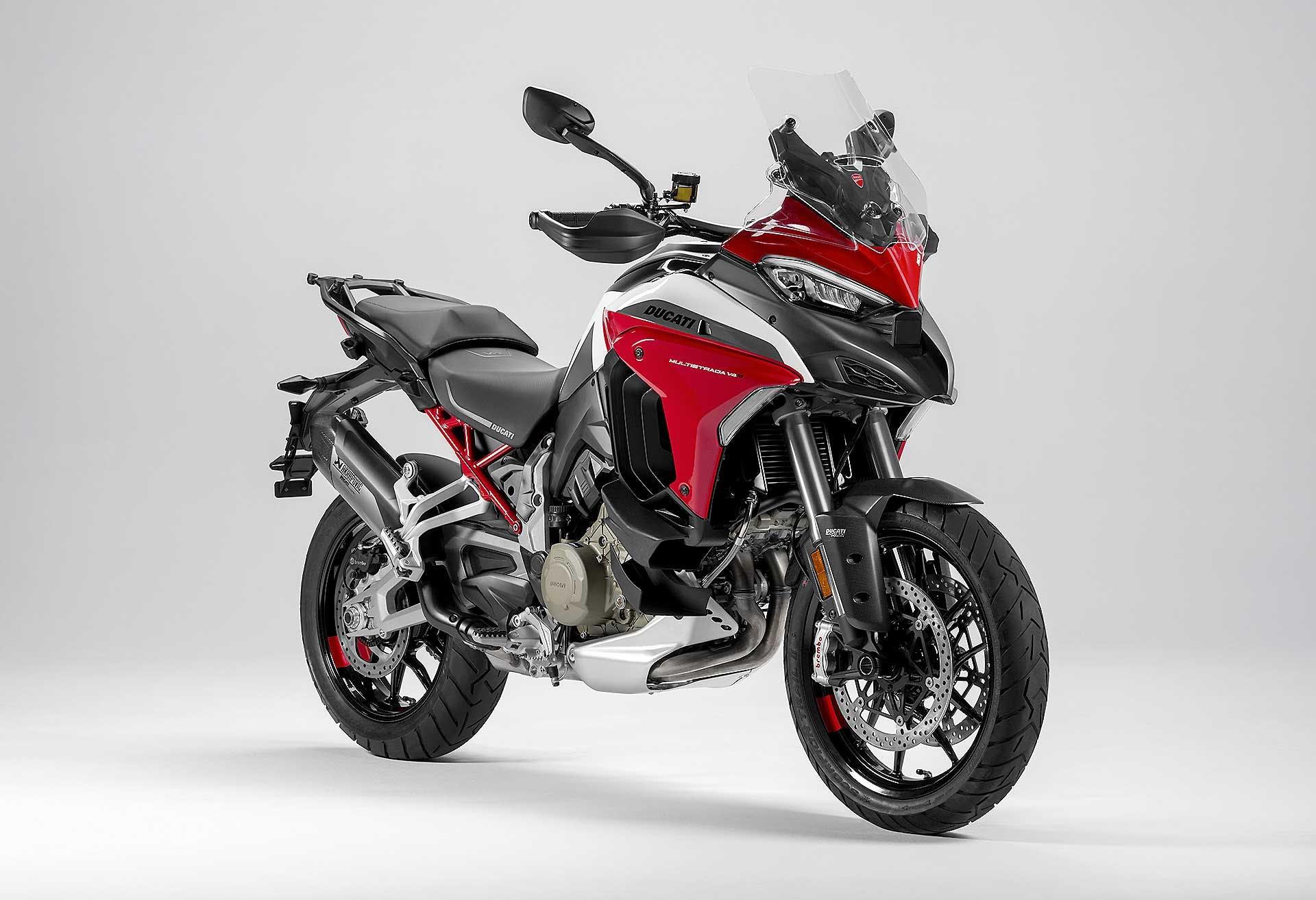 Ducati Multistrada V4 - Migliori maxi enduro 2021