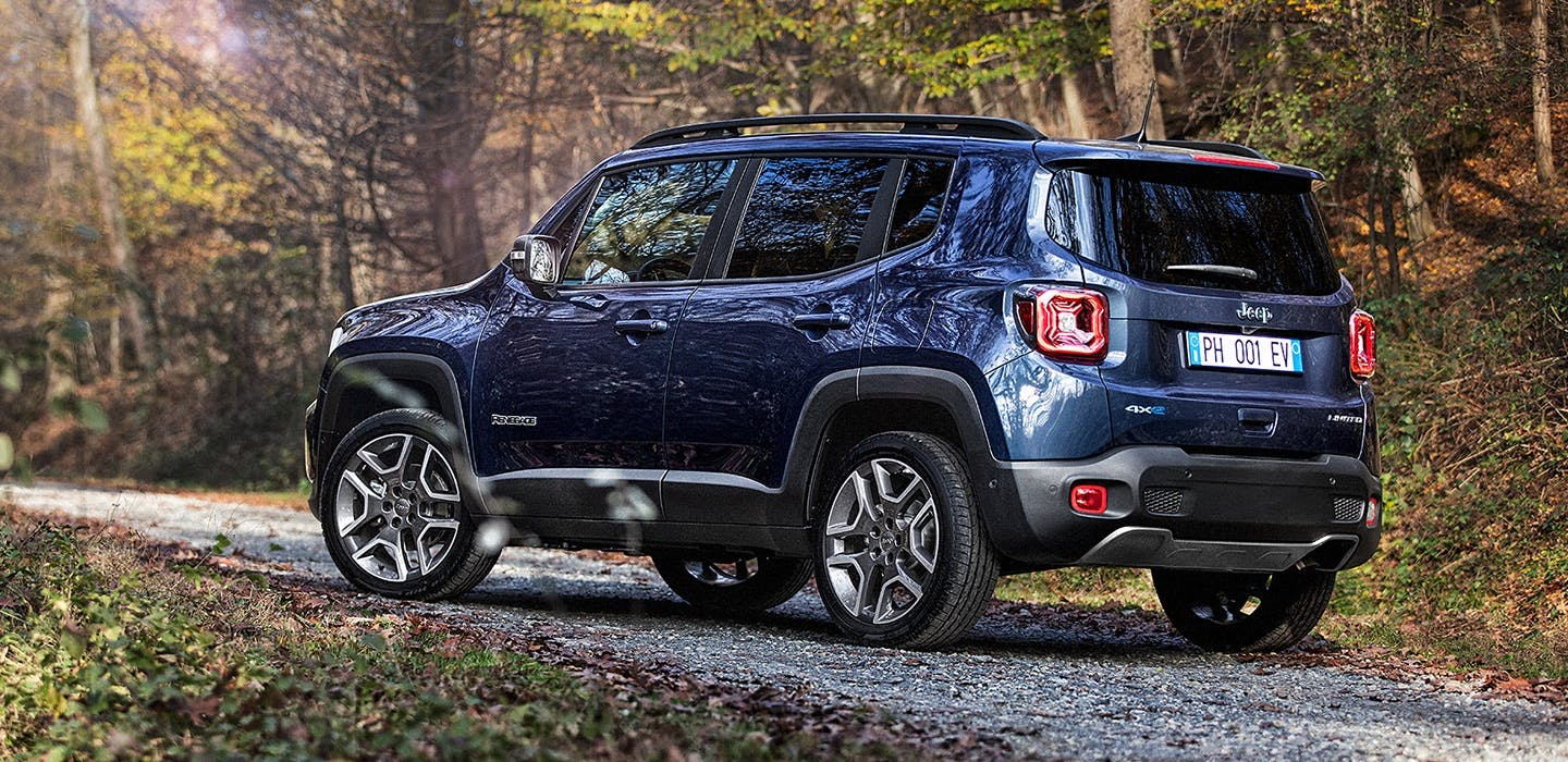 Jeep Renegade 4xe - rear side