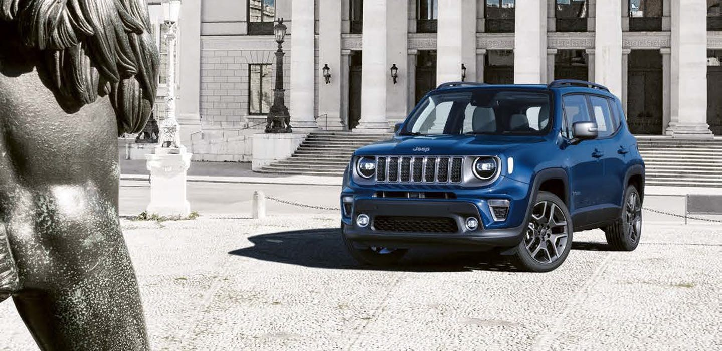 Jeep Renegade 4xe - front 2