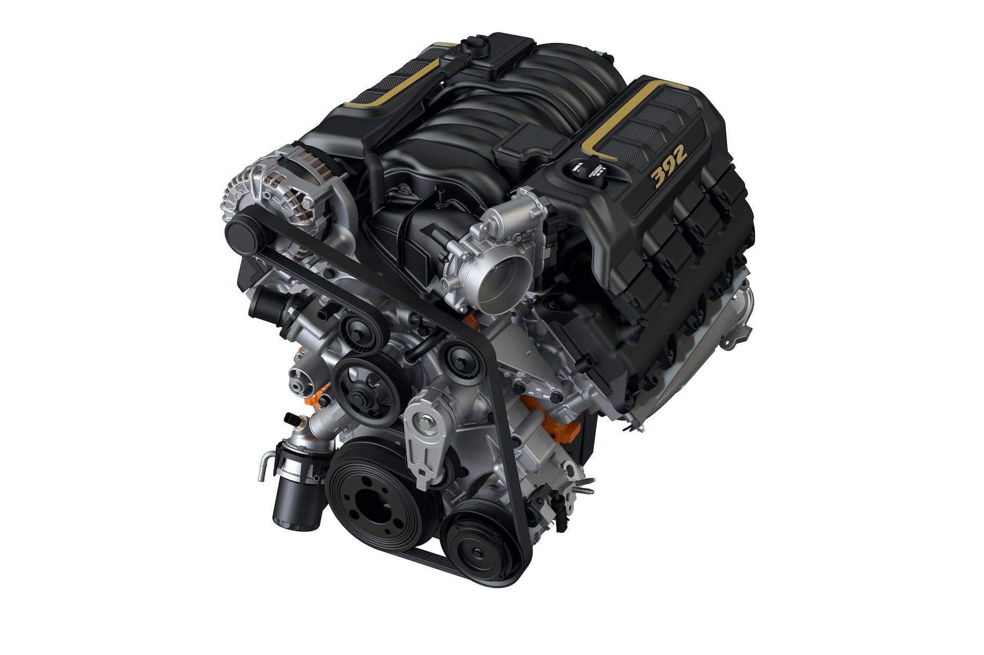 Jeep Wrangler Rubicon 392 - motore V8 HEMI