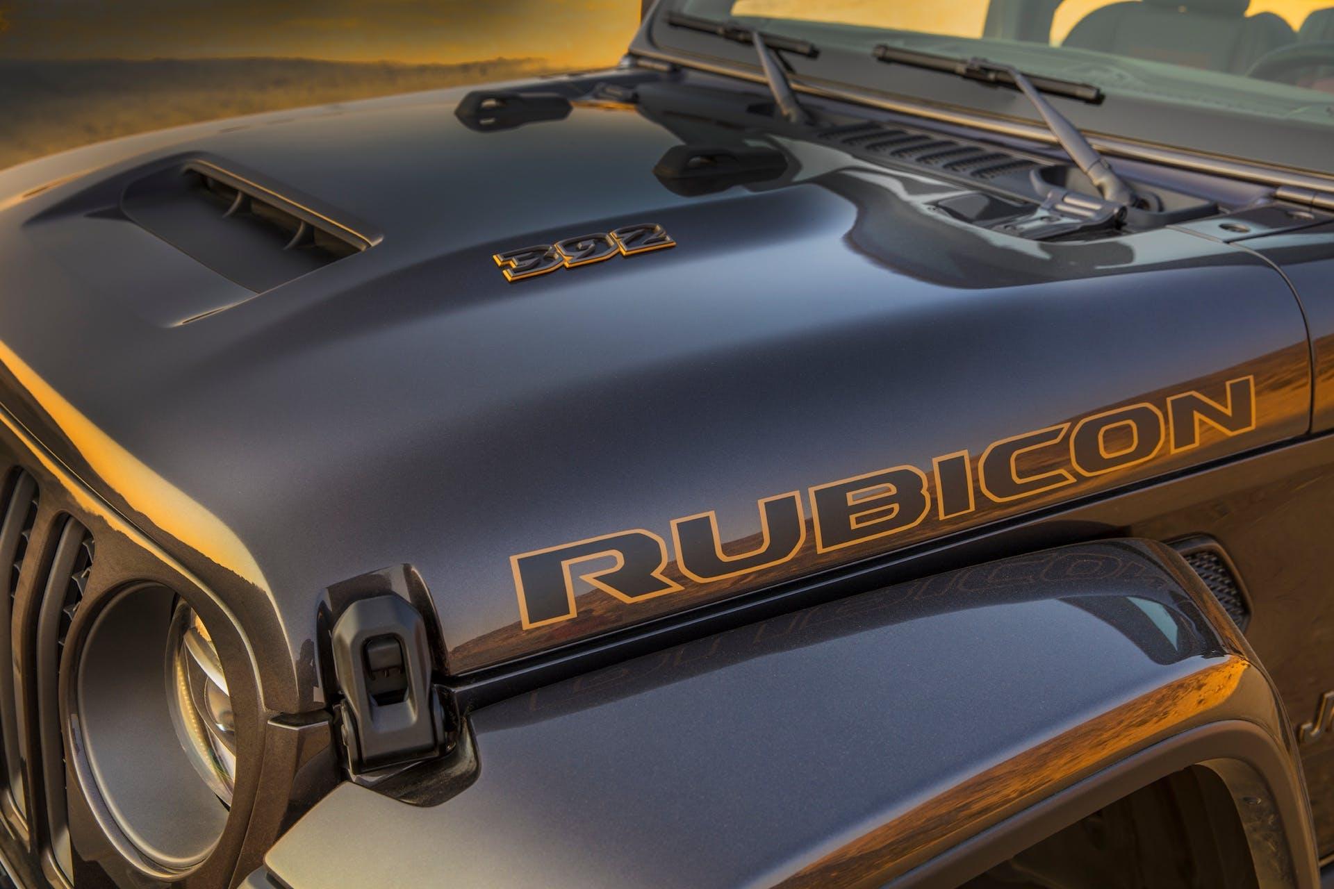 Jeep Wrangler Rubicon 392 - dettaglio cofano