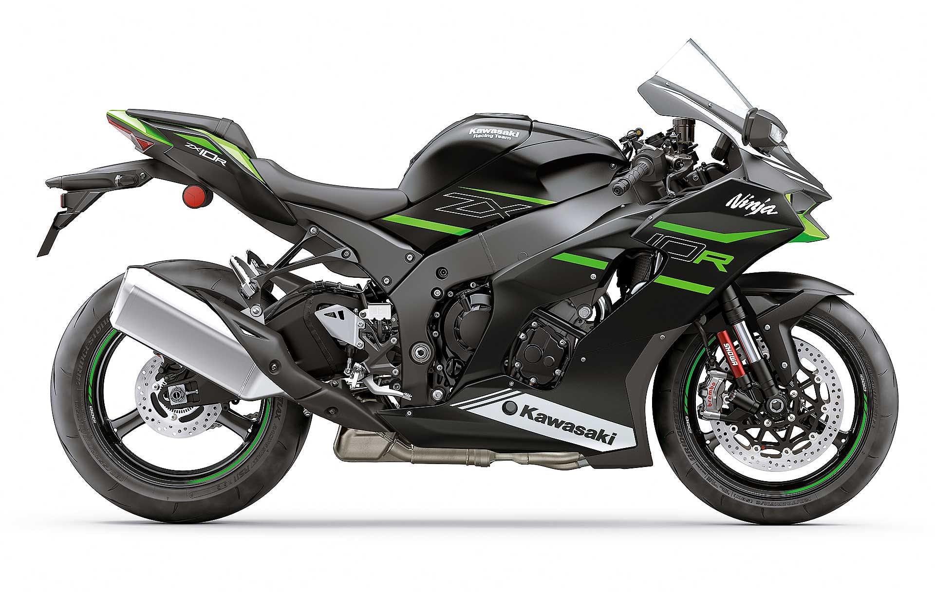 Kawasaki ZX-10R 2021 verde