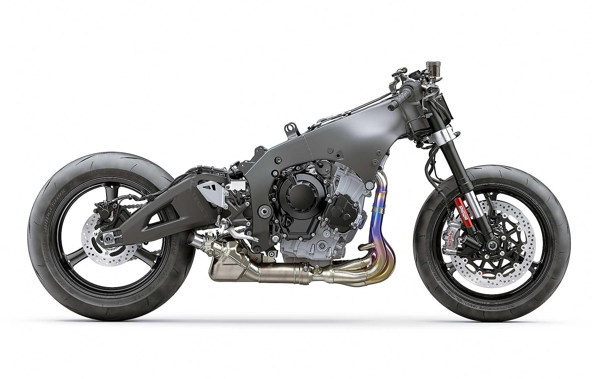 Kawasaki ZX-10R 2021 moto spogliata