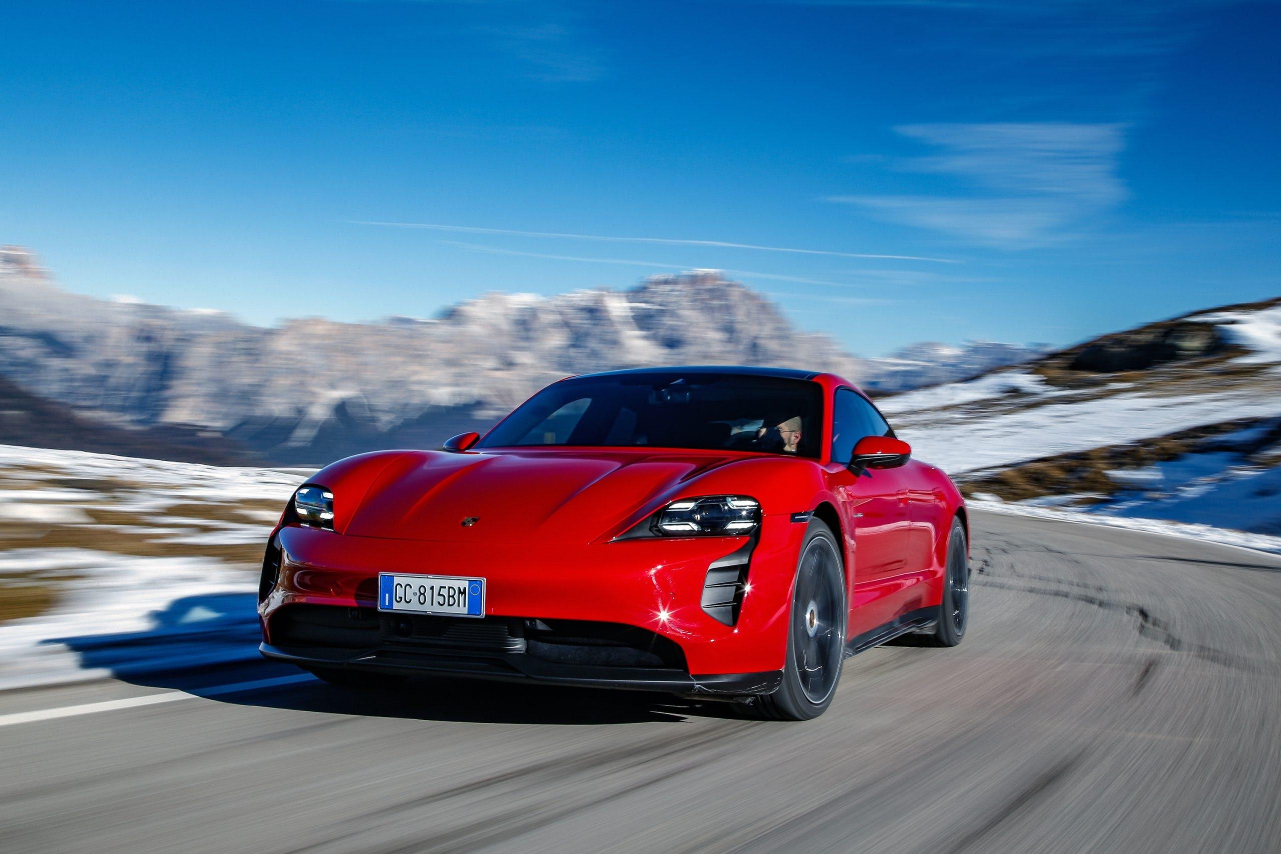 Porsche Taycan Dolomiti