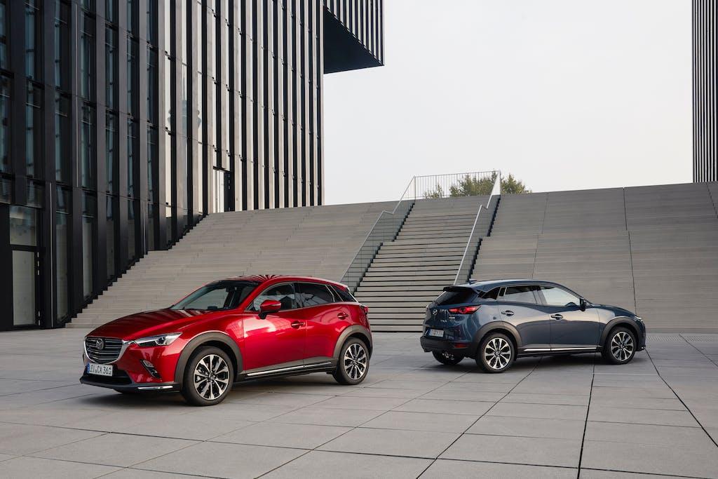 Mazda CX-3, gli aggiornamenti del my2021