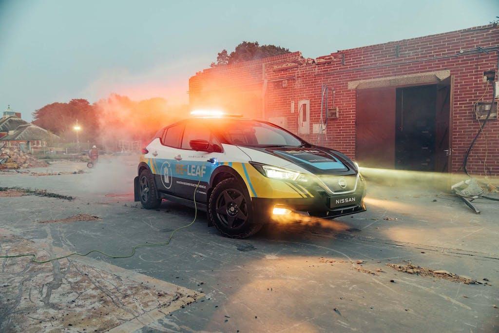 Nissan Re-Leaf, l'elettrica per il primo soccorso