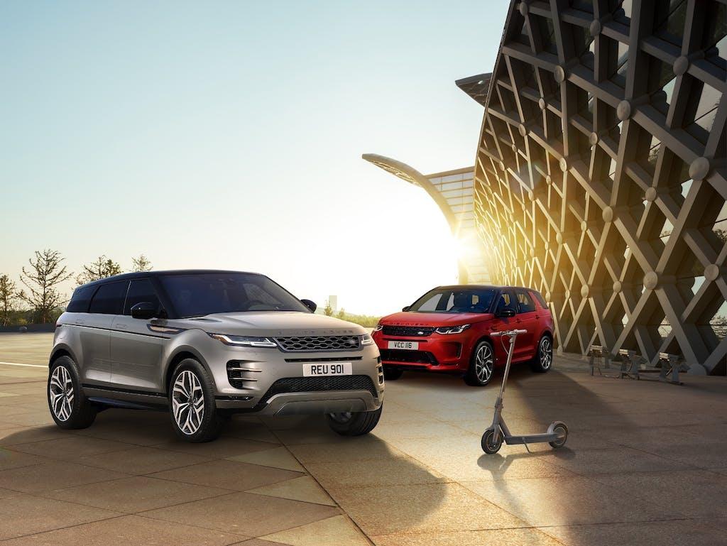Serie speciali Range Rover Evoque e Land Rover Discovery Sport