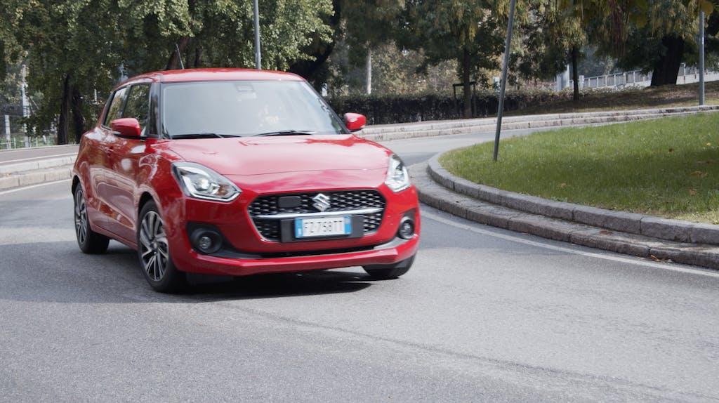 Suzuki Swift 1.2 Hybrid CVT Top, quanto consuma su strada