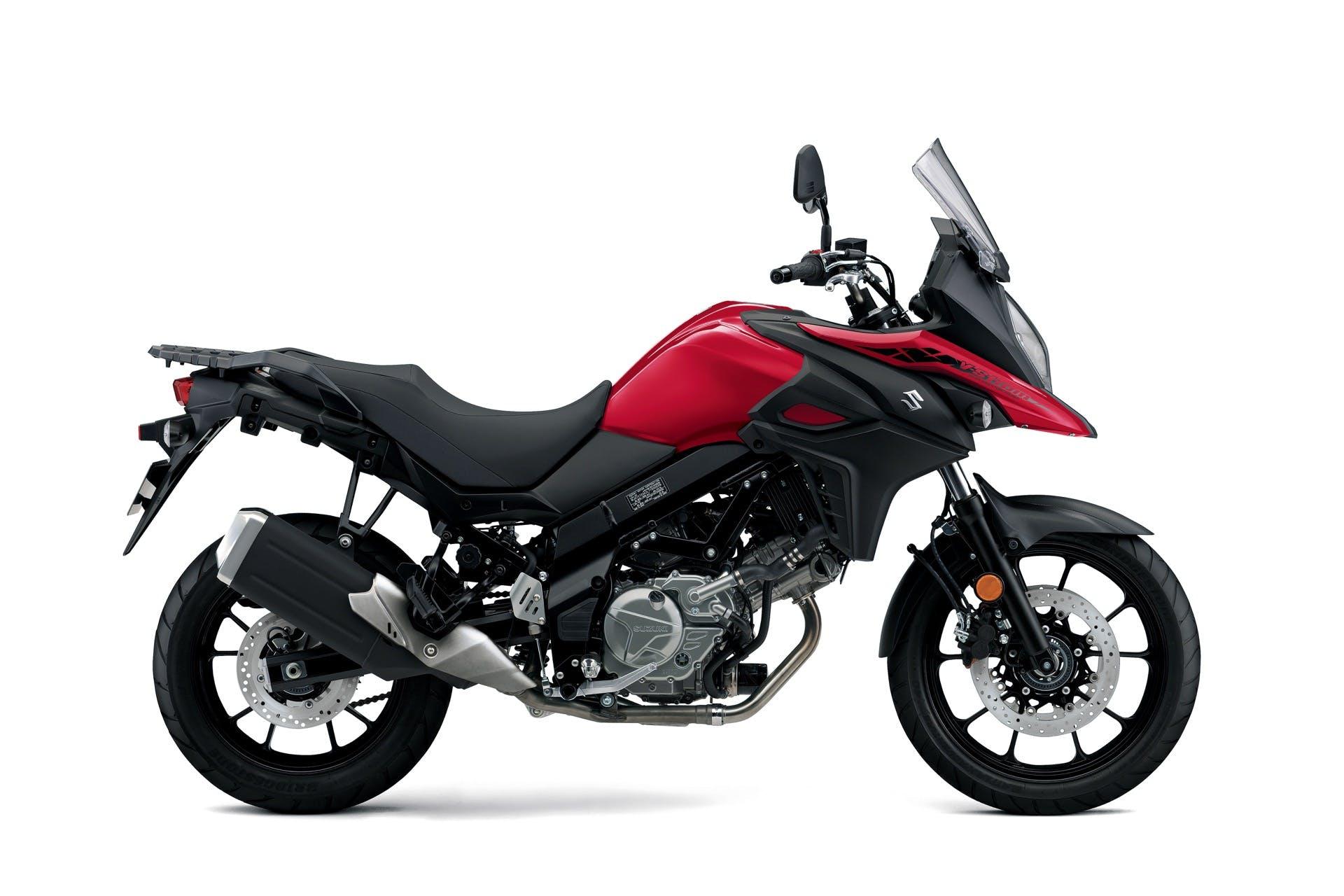 Suzuki V-Strom 650 2021 rossa