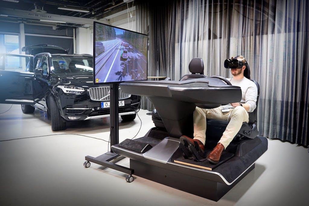 Volvo Cars, un simulatore per videogame migliorerà la sicurezza in auto
