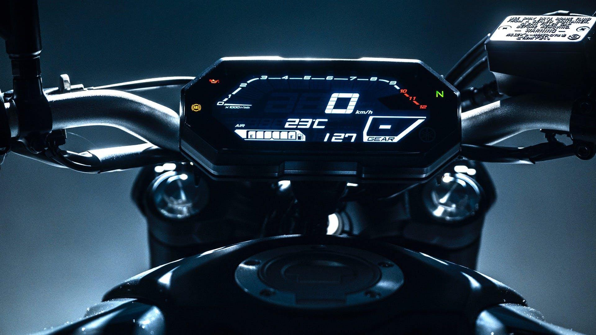Yamaha MT-07 2021 Cruscotto