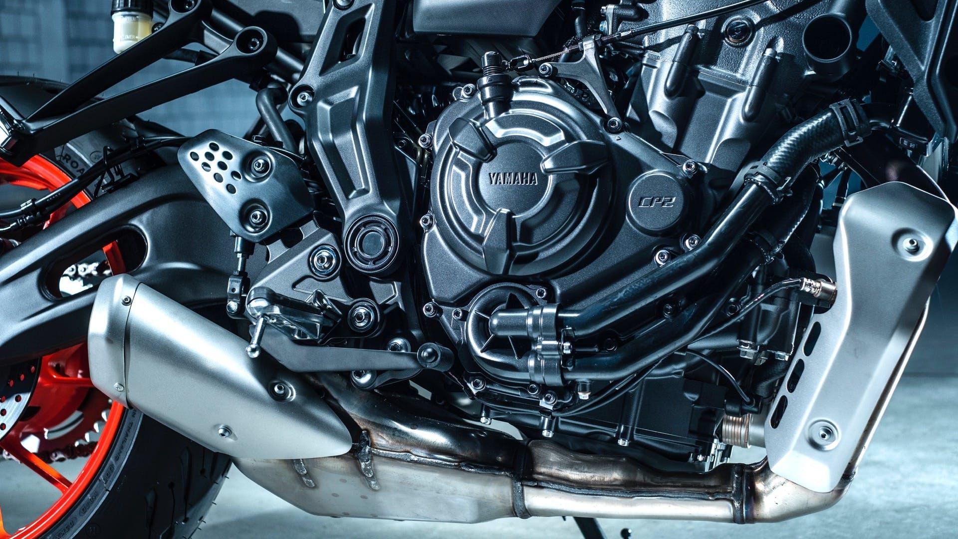 Yamaha MT-07 2021 Motore