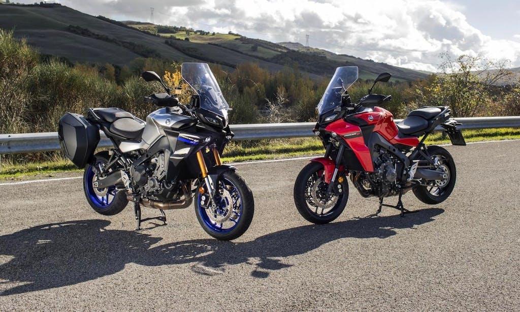 Yamaha Tracer 9 e Tracer 9 GT 2021, più cavalli e meno chili