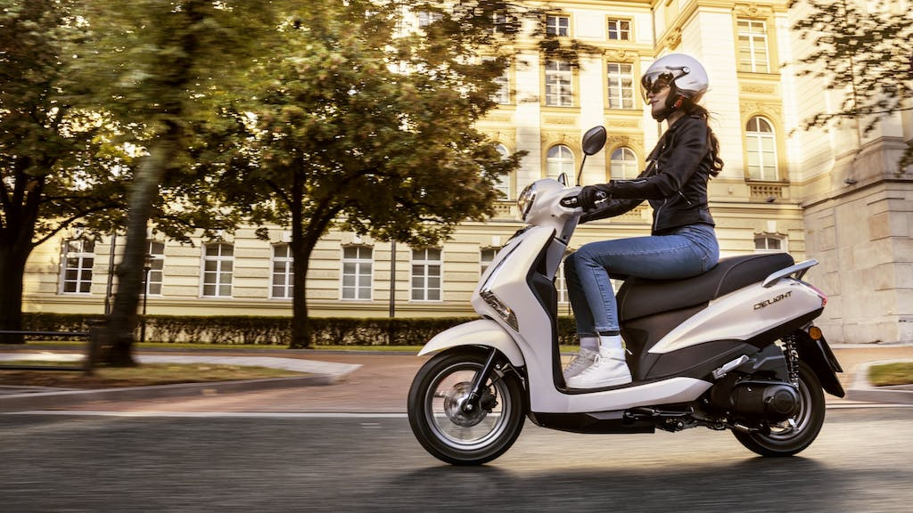 D'elight 125, urban mobility by Yamaha