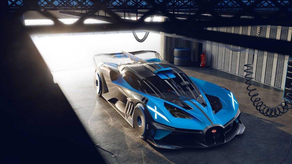 Bugatti Bolide, dove nemmeno le Formula 1 osano