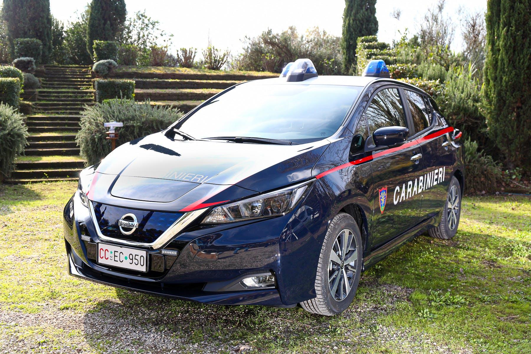 Nissan Leaf Arma dei Carabinieri