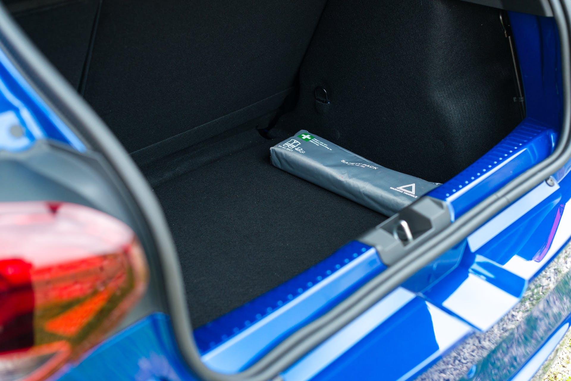 Prova nuova Dacia Sandero Stepway - bagagliaio