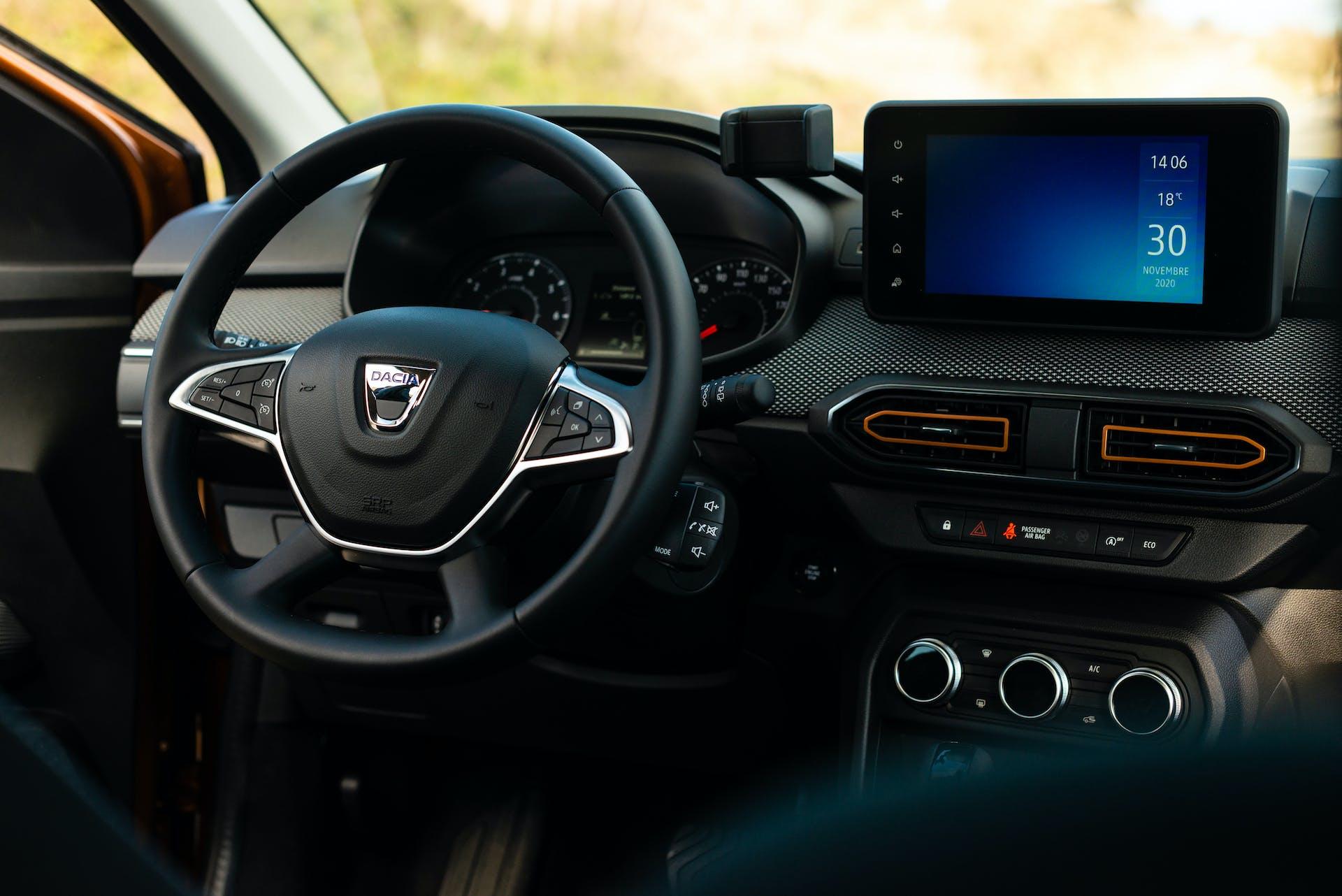 Prova nuova Dacia Sandero Stepway - plancia