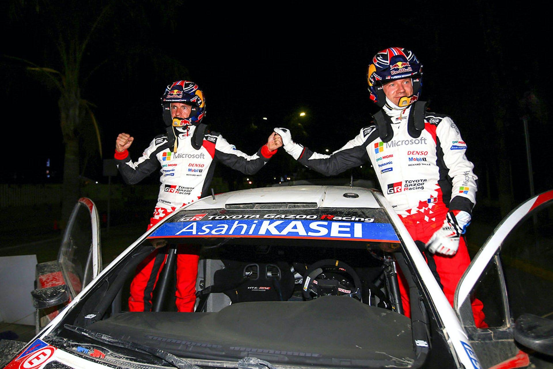 WRC Ogier Ingrassia