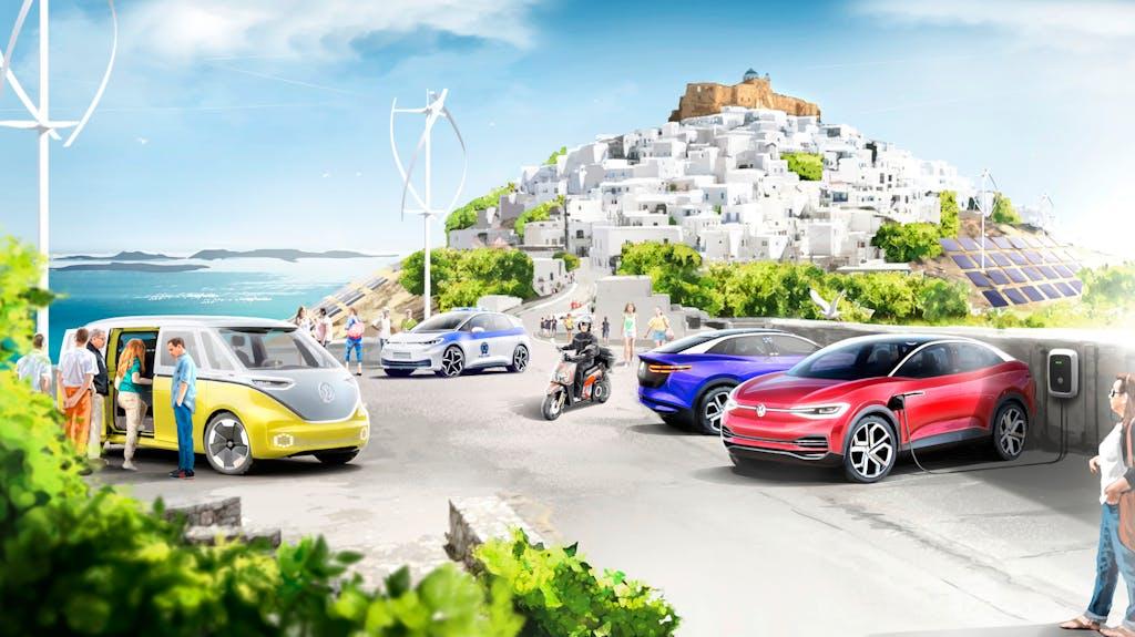 Gruppo Volkswagen avvia un progetto a impatto zero in Grecia