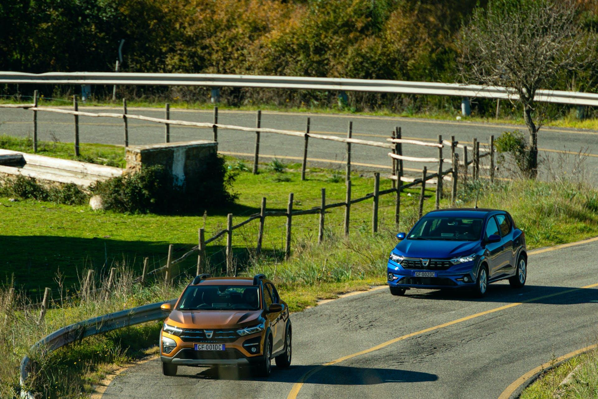 Prova nuova Dacia Sandero Stepway e Streetway