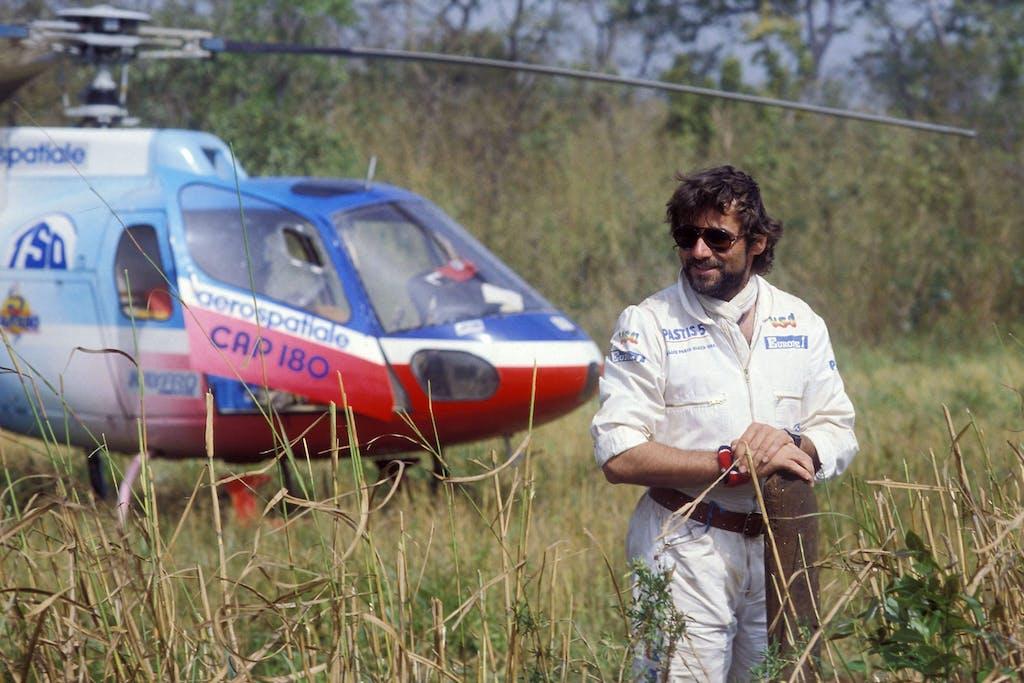 Paris-Dakar Thierry Sabine