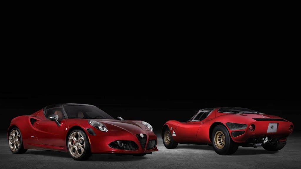Alfa Romeo 4C Spider 33 Stradale Tributo, il 2020 qualcosa di buono l'ha lasciato