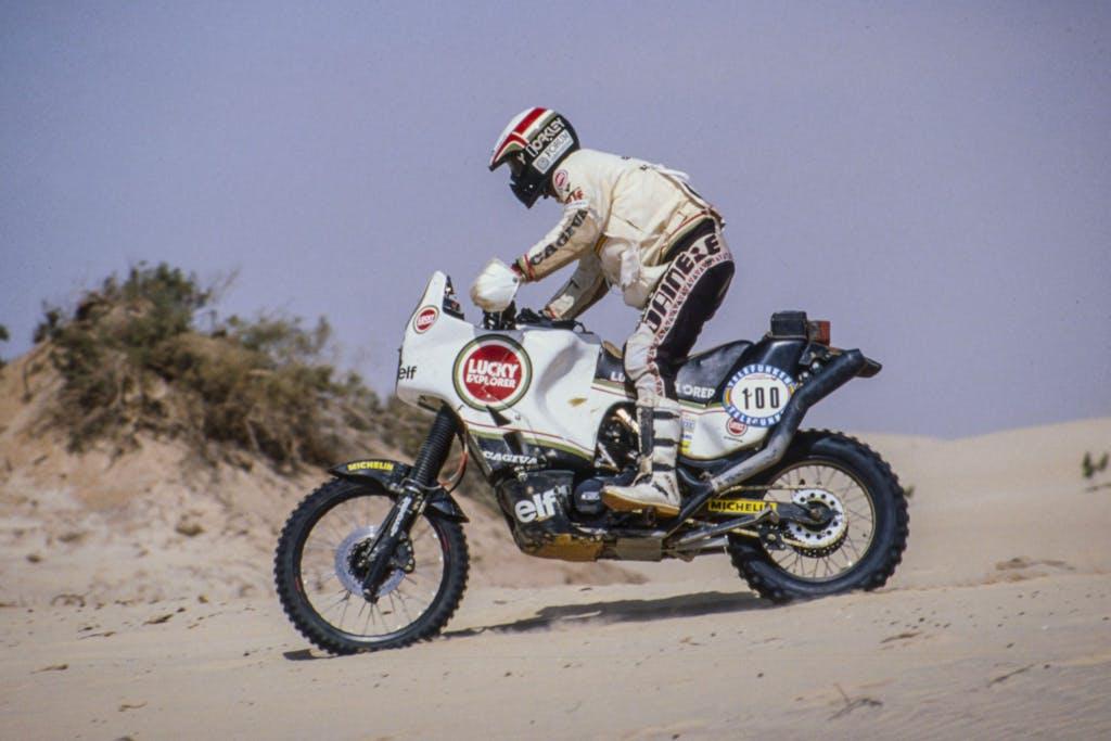 Paris-Dakar Hubert Auriol Cagiva