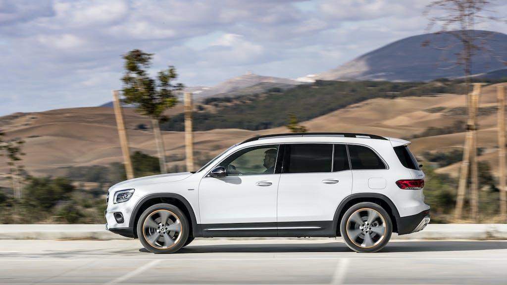 Mercedes GLB 200, prova consumi del family-SUV a benzina