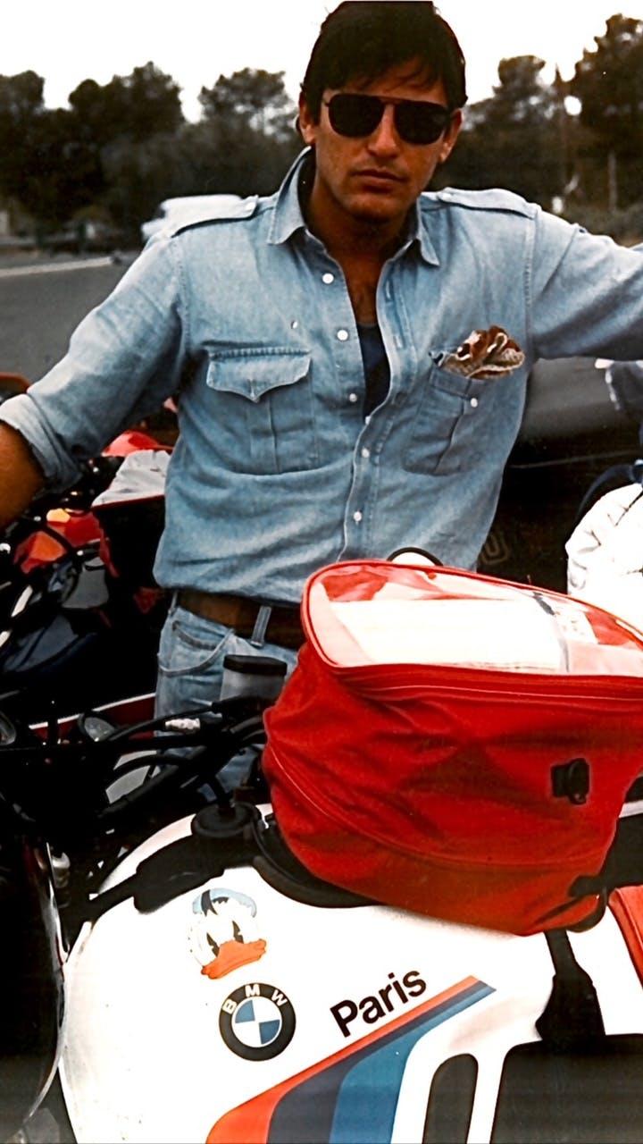 Filippo La Mantia chef e motociclista su BMW