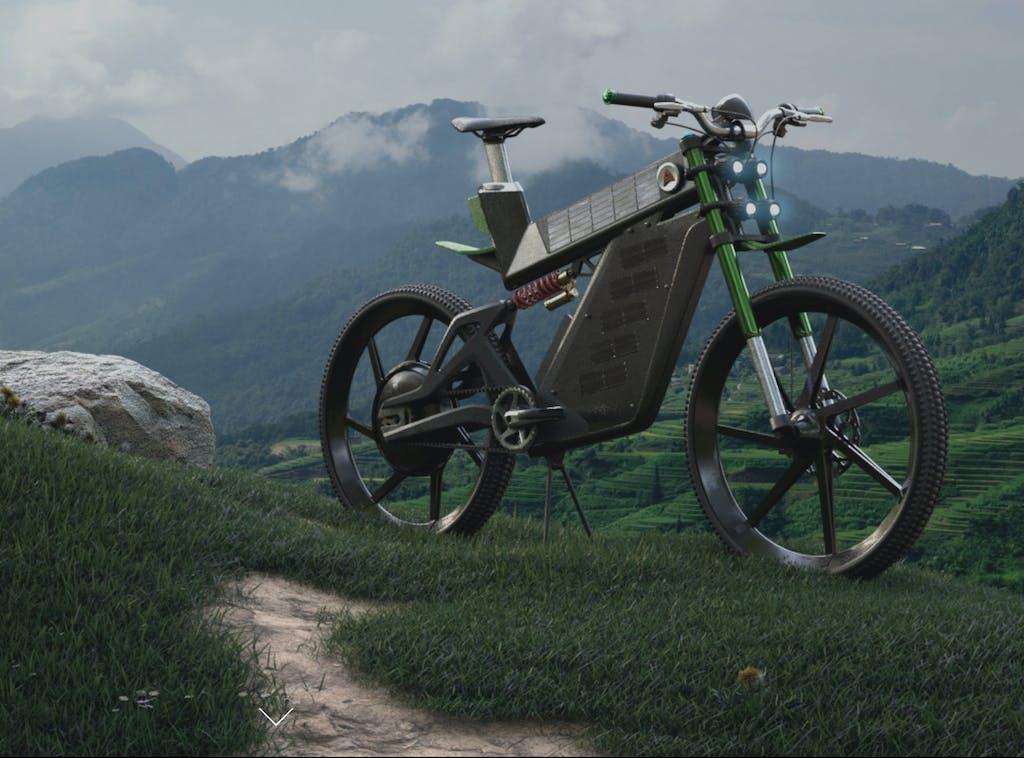 Terra, l'e-Bike a energia solare