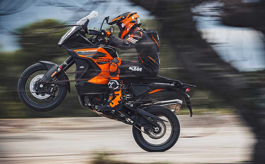KTM 1290 Adventure S 2021 Spirito leader