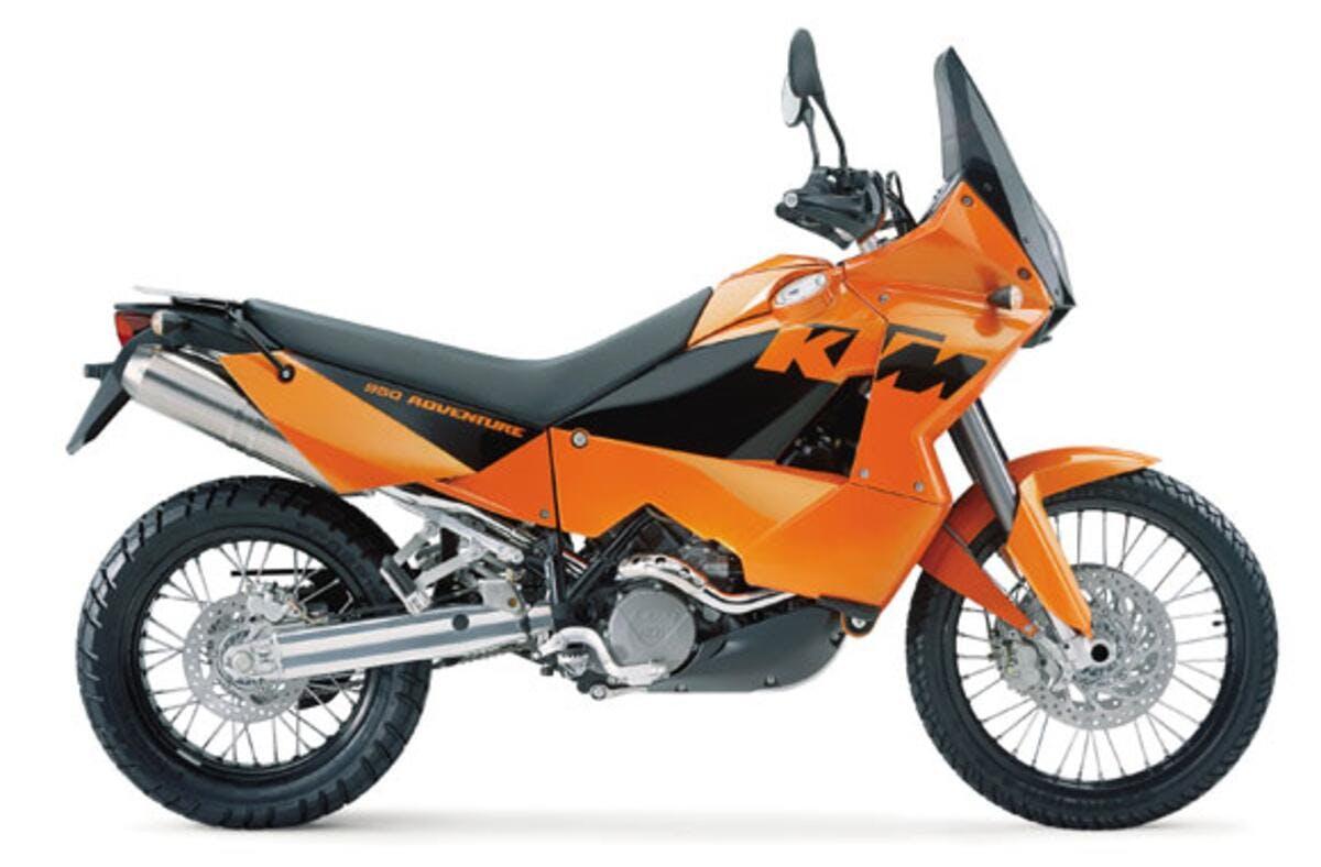 KTM 950 Adventure 2004