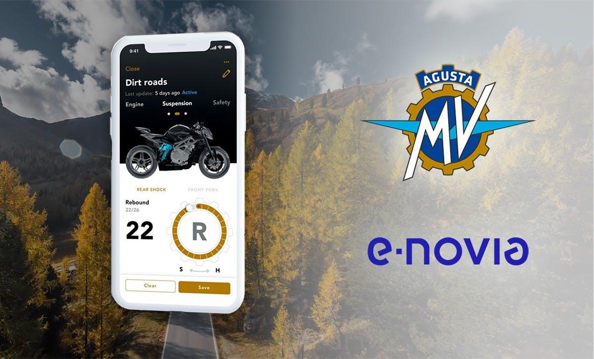 MV Agusta ed e-Novitec - MV Ride App