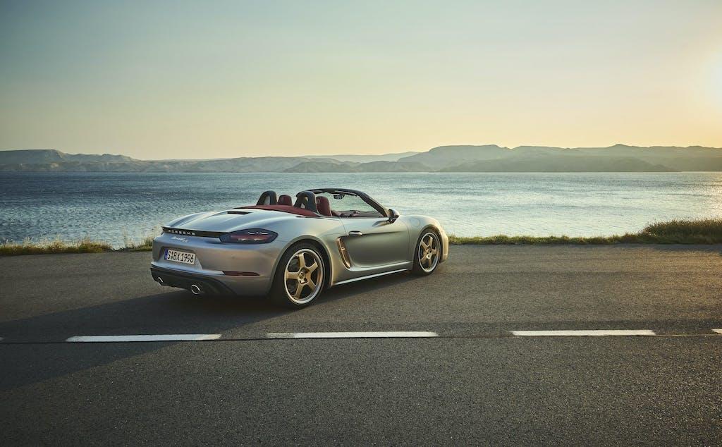 """Porsche Boxster 25 anni, motore """"giusto"""" e look unico"""