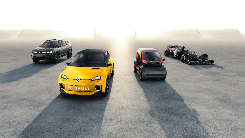 L'erede della Renault 5 guida la… Renaulution française