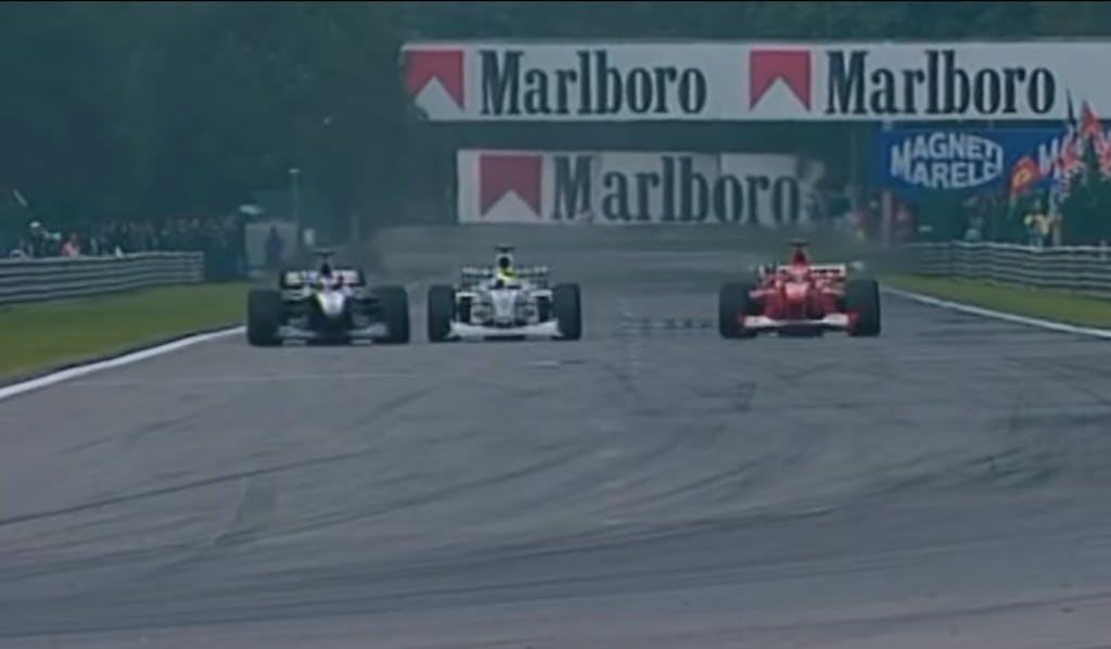hakkinen schumacher spa 2000