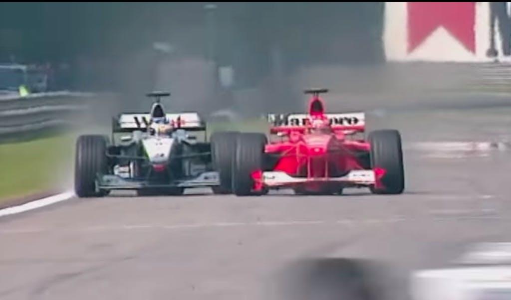 Mika Hakkinen Spa 2000