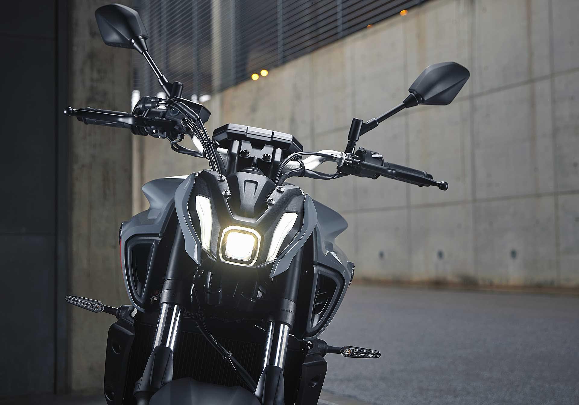 Yamaha MT-07 2021 faro anteriore